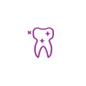 Single Teeth Icon