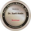Implant Dentist Surrey - Fan Choice Awords Logo